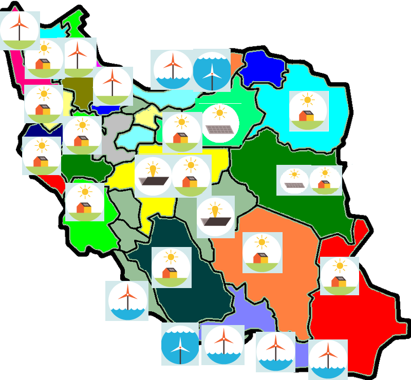 clean power map iran